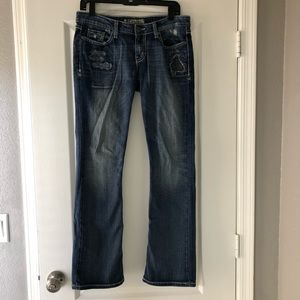 BKE Sabrina Bootcut Stretch Jeans Size 28